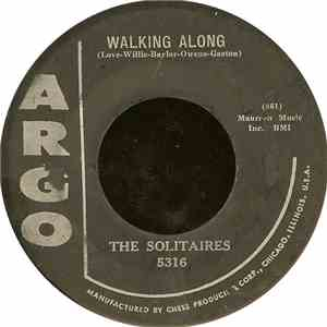 The Solitaires - Walking Along / Please Kiss This Letter download mp3 album
